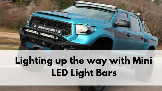 cars with mini led light bars